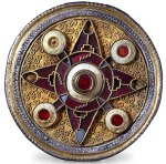 Anglo-Saxon brooch. Trustees of the British Museum