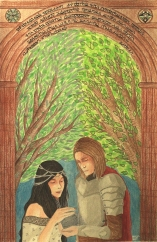 Beren and Luthien. Copyright Rebecca Power