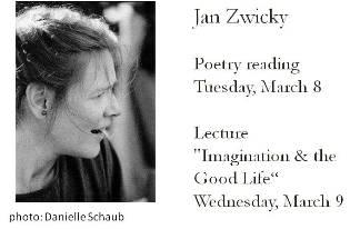 Jan Zwicky poster