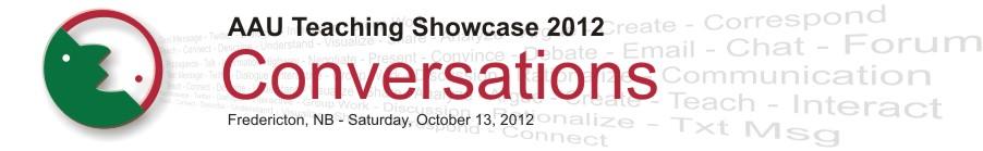 AAU Teaching Showcase banner 2012