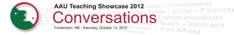 AAU Teaching Showcase banner 2012