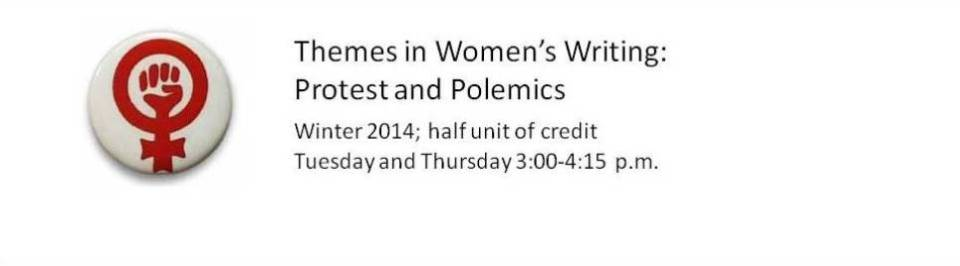 ENGL 2242: Themes in Women's Writing