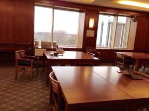 Marquette Archives reading room