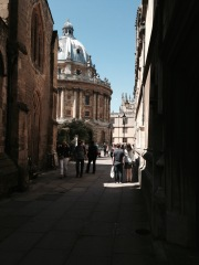 Oxford, looking to the Radcliffe Camera