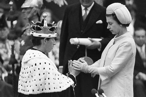 Prince Philip and Queen Elizabeth 1969