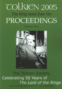 Tolkien 2005: The Ring Goes Ever On Proceedings