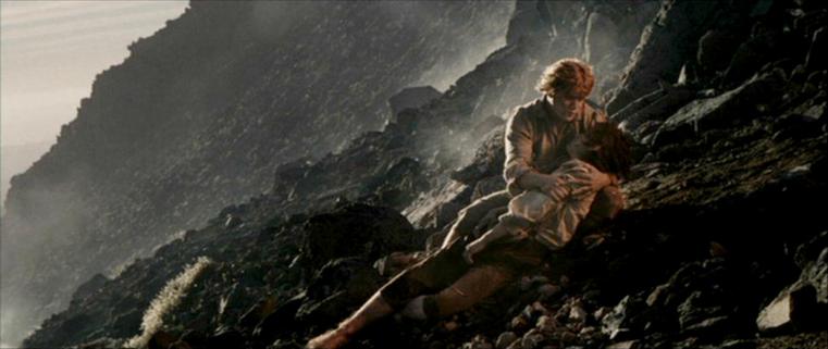 Sam Frodo Mount Doom LotR Framecap Lib