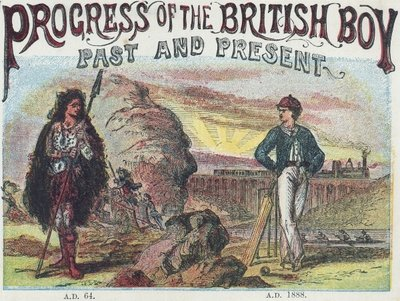 Progress of the British Boy: Past and Present 1888