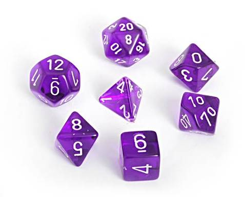 D&D dice from diceaholic.wordpress.com