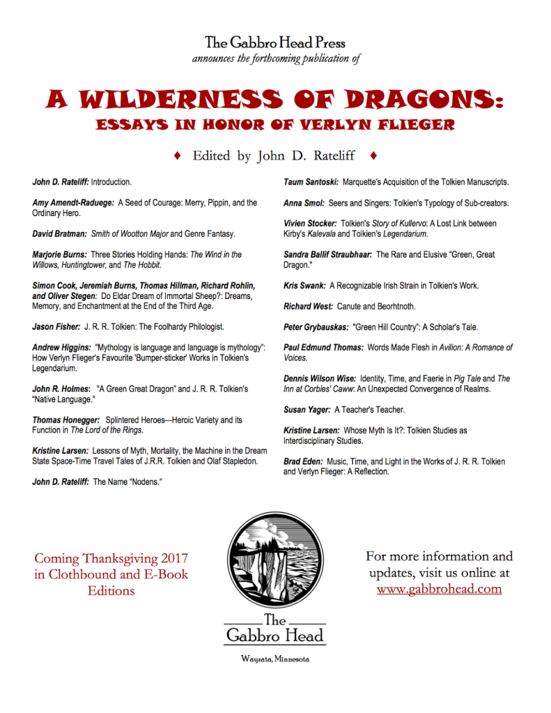 A Wilderness of Dragons: Essays in Honor of Verlyn Flieger