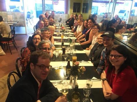 Tolkien at Leeds 2018 closing dinner