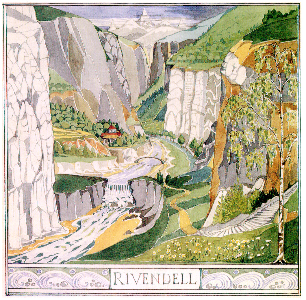 """Rivendell"" by Tolkien"