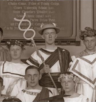 Tolkien as Hermes in 1911