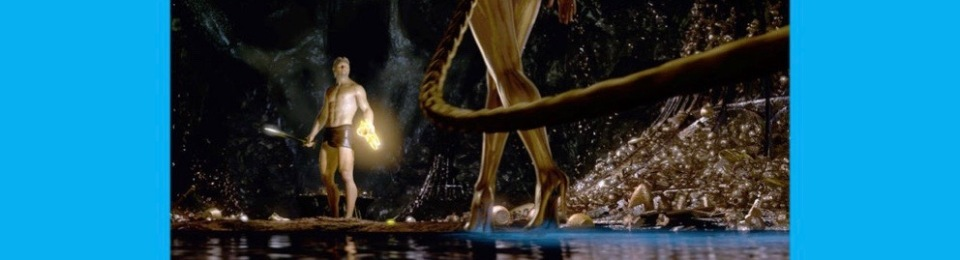 Beowulf and Grendel's Mother. 2007 film